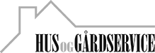 Hus og Gårdservice logo
